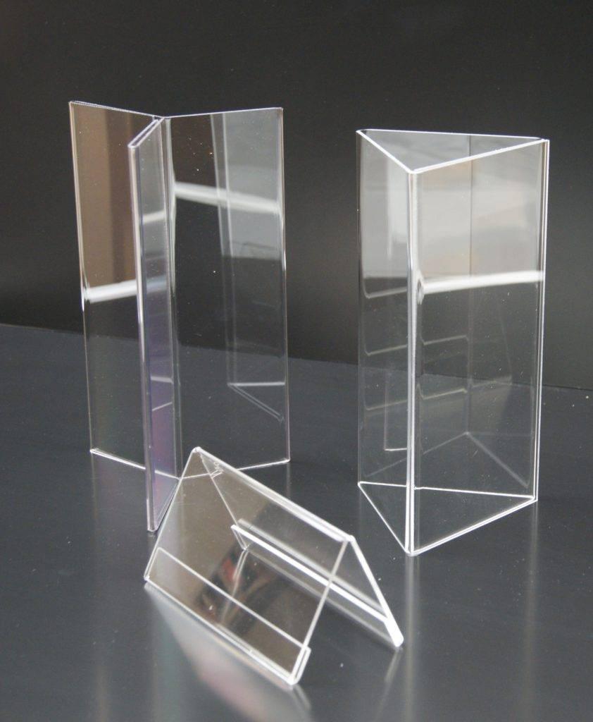 Plexihouder display klein