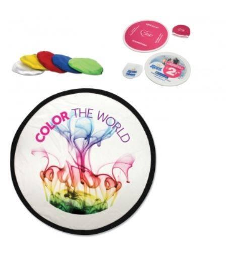 Bedrukte opplooibare frisbee