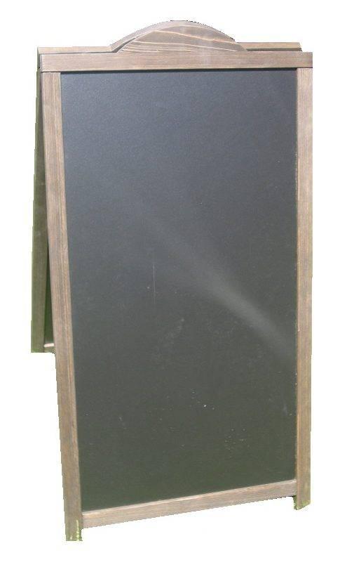 Klassiek Houten stoepbord