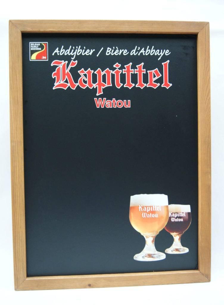 Houten stoepbord biermerken